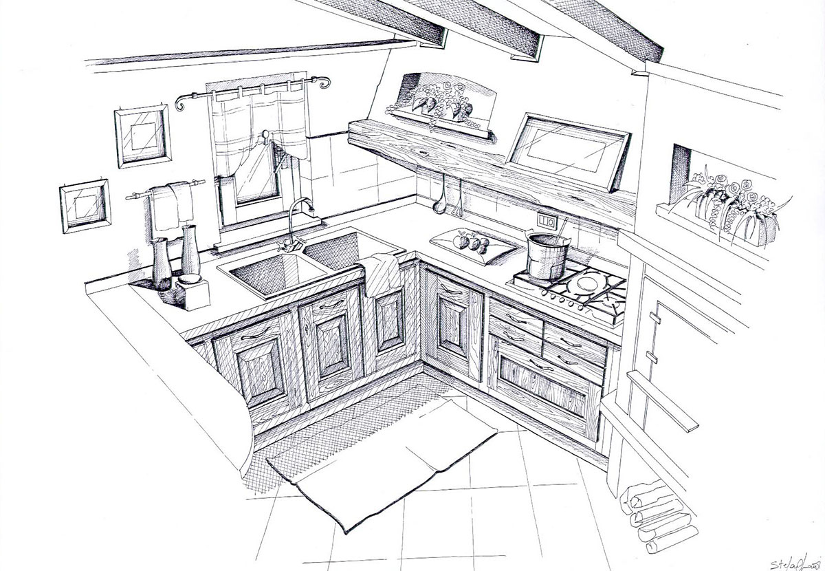 Disegni di cucine eb16 regardsdefemmes - Disegni di cucine ...